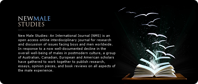 new male studies international journal for men masculinity and much more