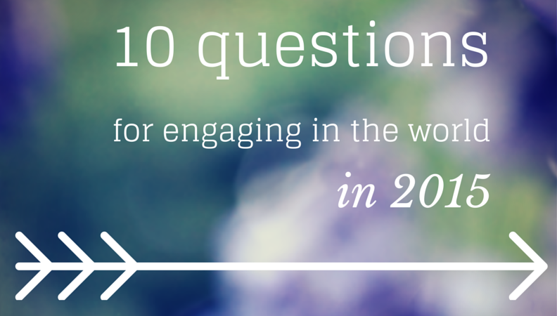 10 questions for 2015