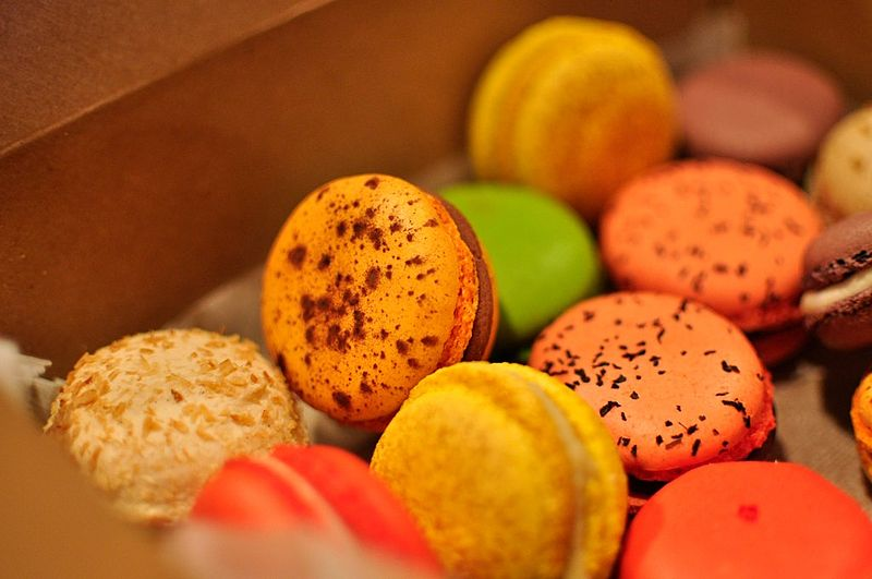 By Animesh Sabnis (Flickr: Alliance Bakery Macarons), via Wikimedia Commons