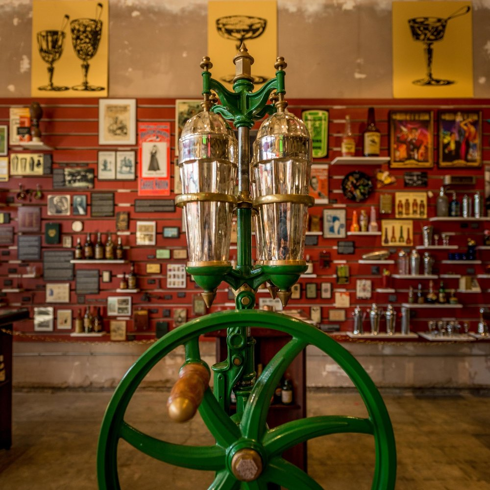 In the Southern Food & Beverage Museum in New Orleans -