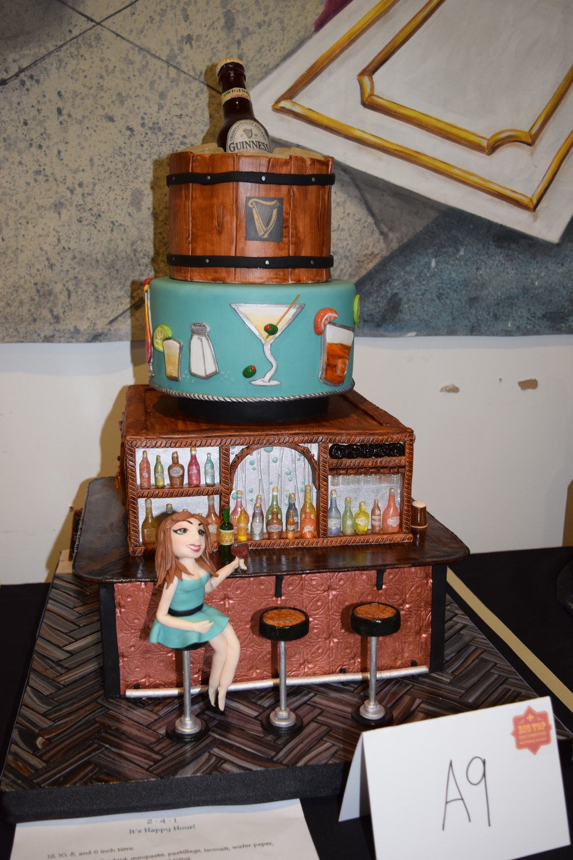 Last year's winning professional cake!