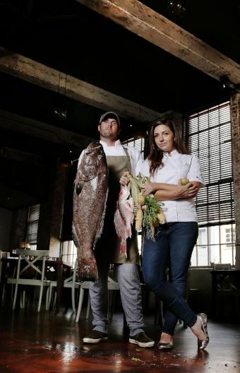 Chefs Cody and Sam Carroll Photo Credit Marianna Massey Photography