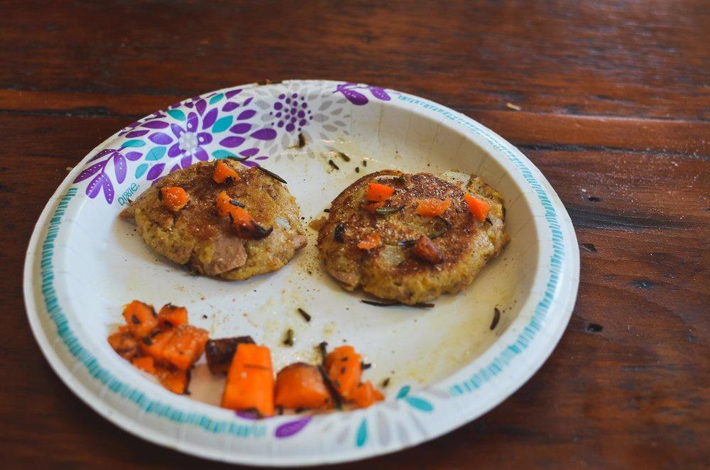 Tuna Patty a la carrot