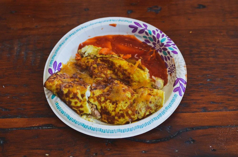 Tuna Omelette (A Twist)