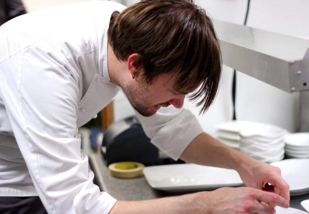 Chef Alex Perry, image courtesy Julian Brunt