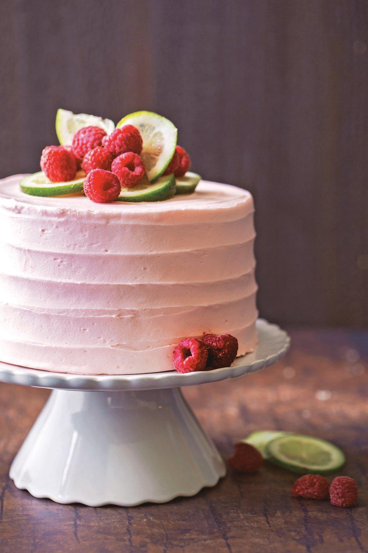 Decadent Fruit Desserts Raspberry Lime Cake.jpg
