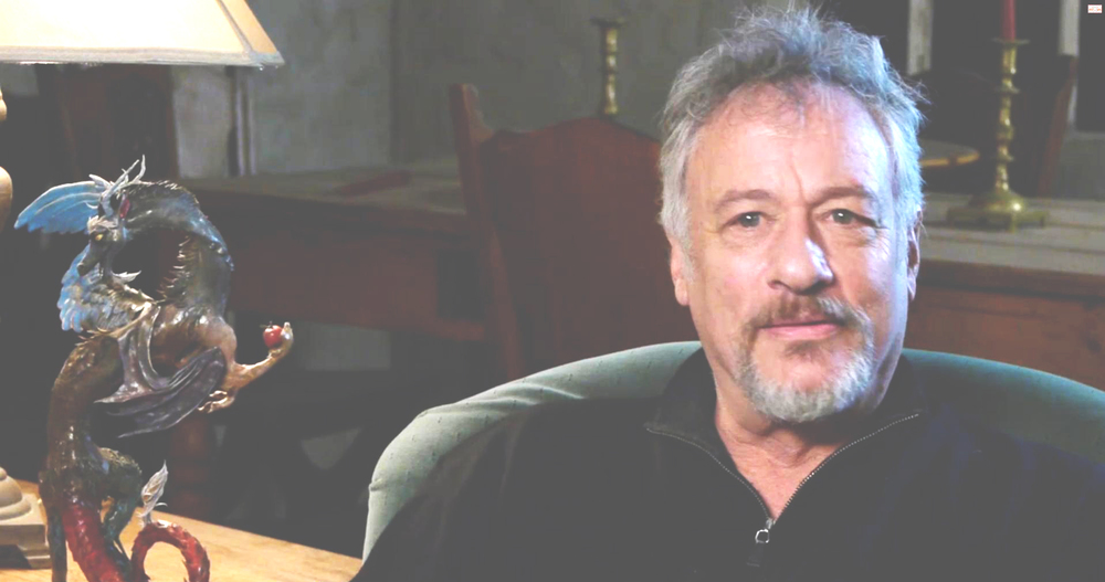 John De Lancie with Ellen's rendition of his character 'Discord',  Bronies  documentary 2012