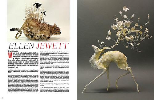 Statement And Press Ellen Jewett Sculpture - Surreal animal plant sculptures ellen jewett