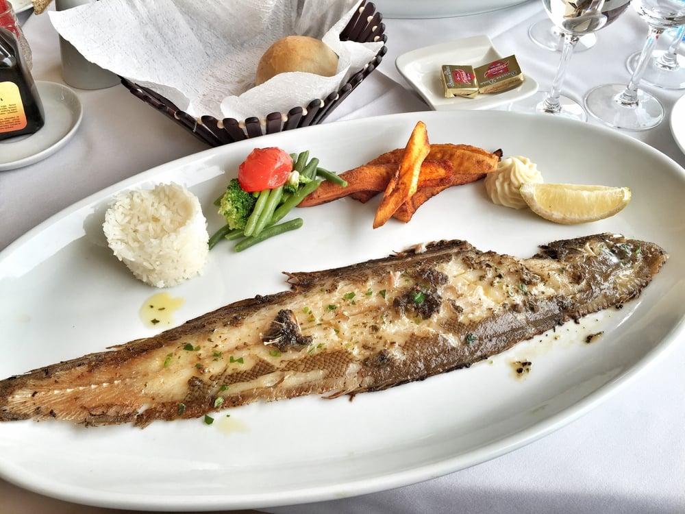 Kalaa ja plantaania. Voisin elää loppuelämäni tällä ruokavaliolla.