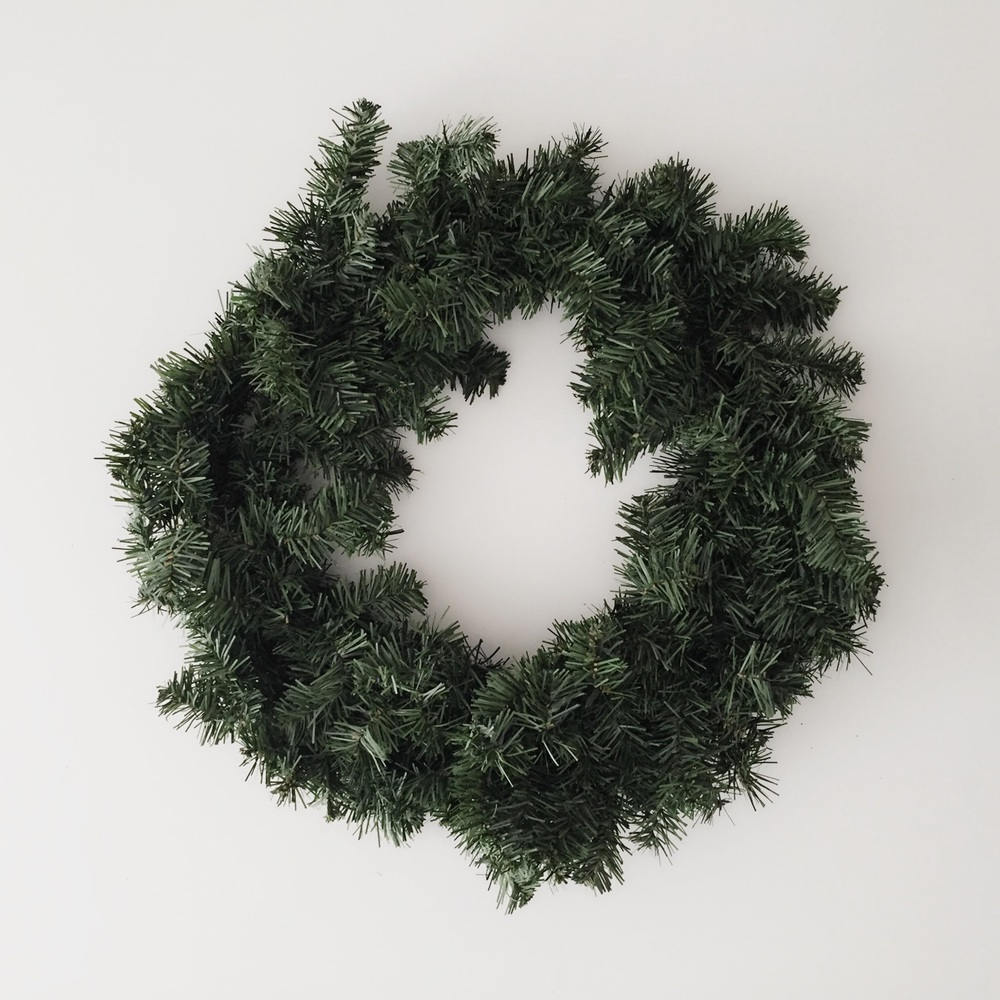 Artificial Pine Wreath from Michaels
