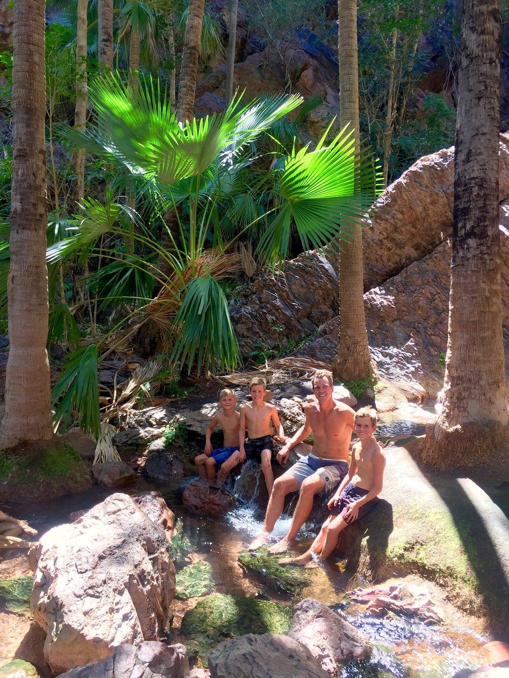 This is Zebedee hot springs.