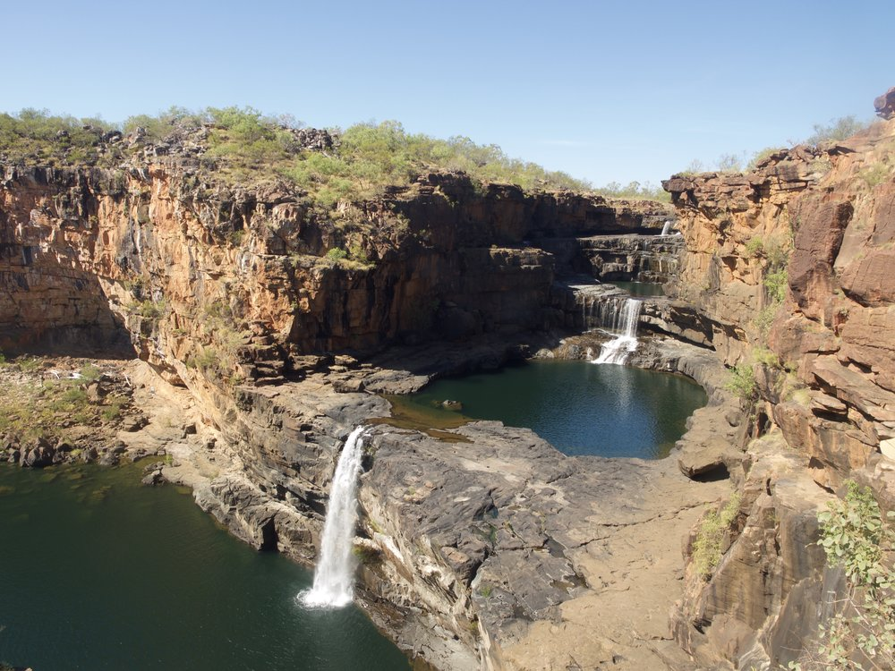 This is Mitchell Falls.