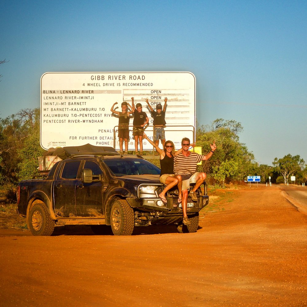 We have finished the Gibb River Road!