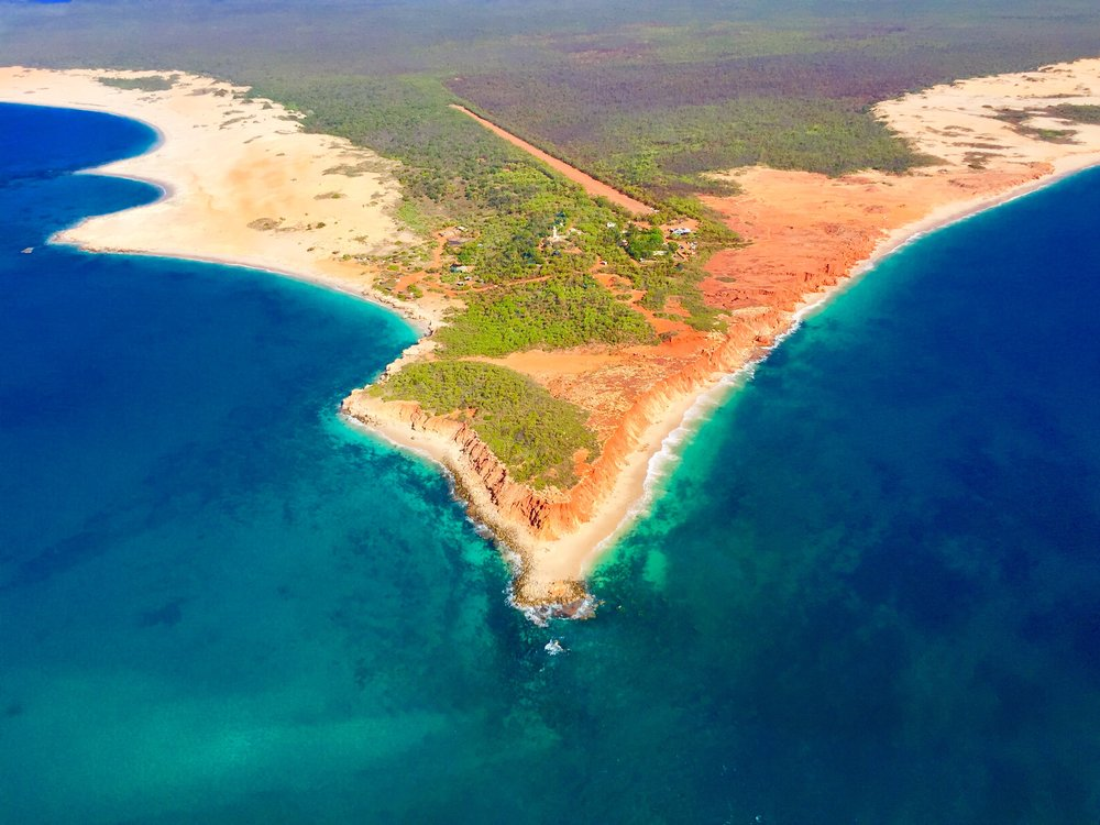 This is the point of Cape Leveque.