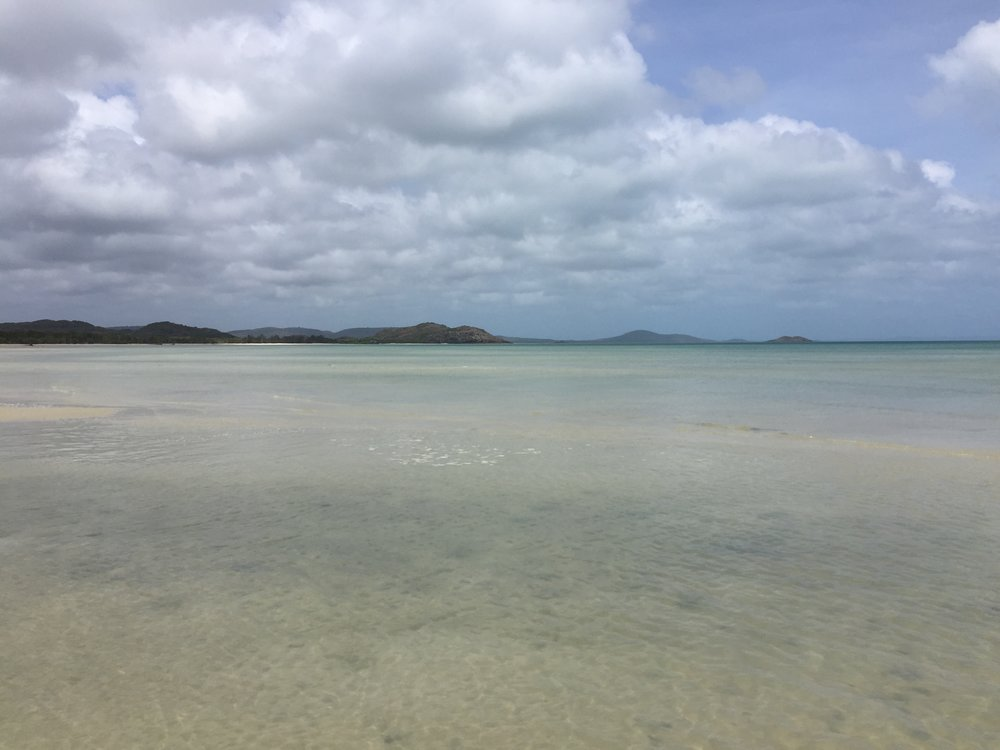 This photo is taken from Cape York.
