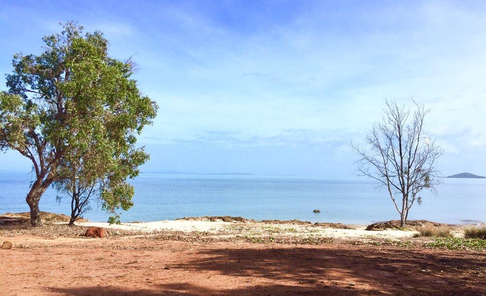 This is Alau beach.