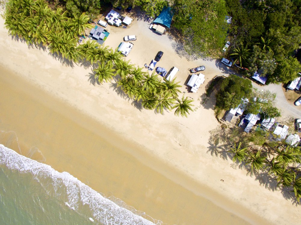 This is a photo of Ellis Beach from our drone.