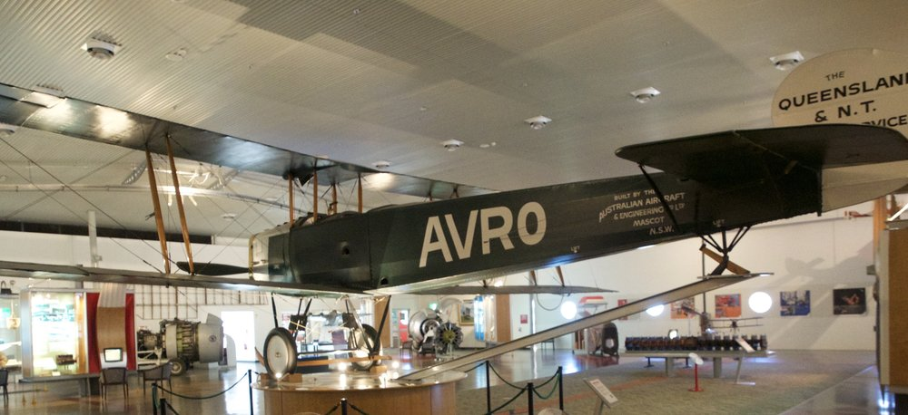 The AVRO one of the first Qantas planes ever.