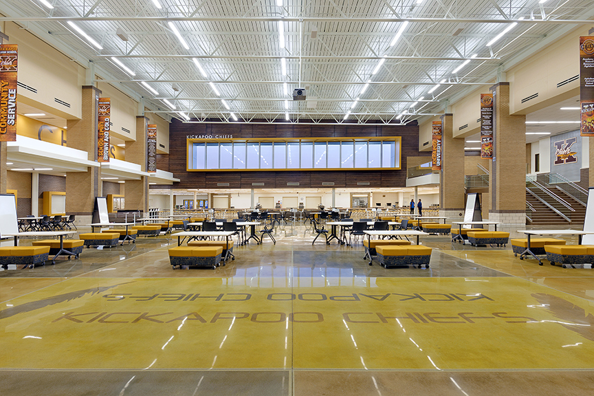 KICKAPOO HIGH SCHOOL RENOVATION PHASE I