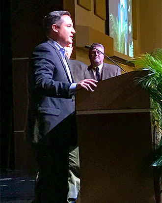 Buxton Kubik Dodd Creative principal Jon Dodd speaks on behalf of The Design Team of the Year.