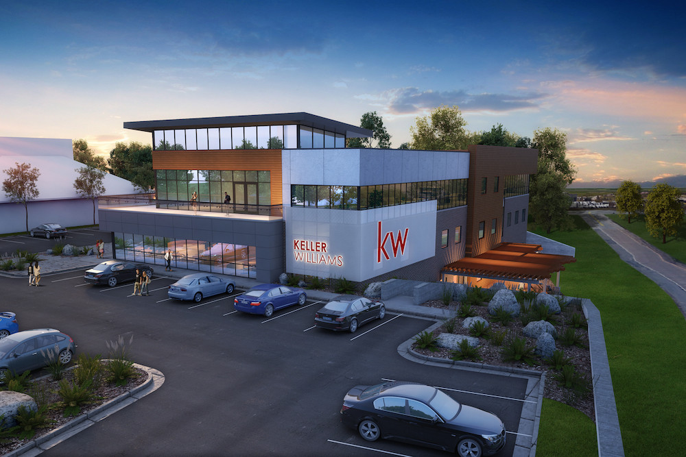 RENDERING PROVIDED BY BUXTON KUBIK DODD DESIGN COLLECTIVE  Keller Williams Greater Springfield is planning its new office adjacent to the Battlefield Road on-ramp to U.S. Highway 65.