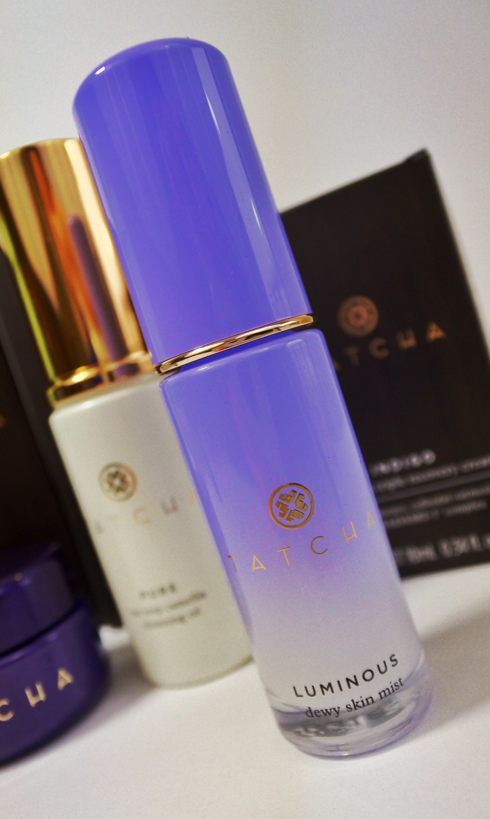 Tatcha Mist Available at -  Tatcha  (full & travel size),  Sephora  (full size only).  Photo shows 0.4oz travel size.