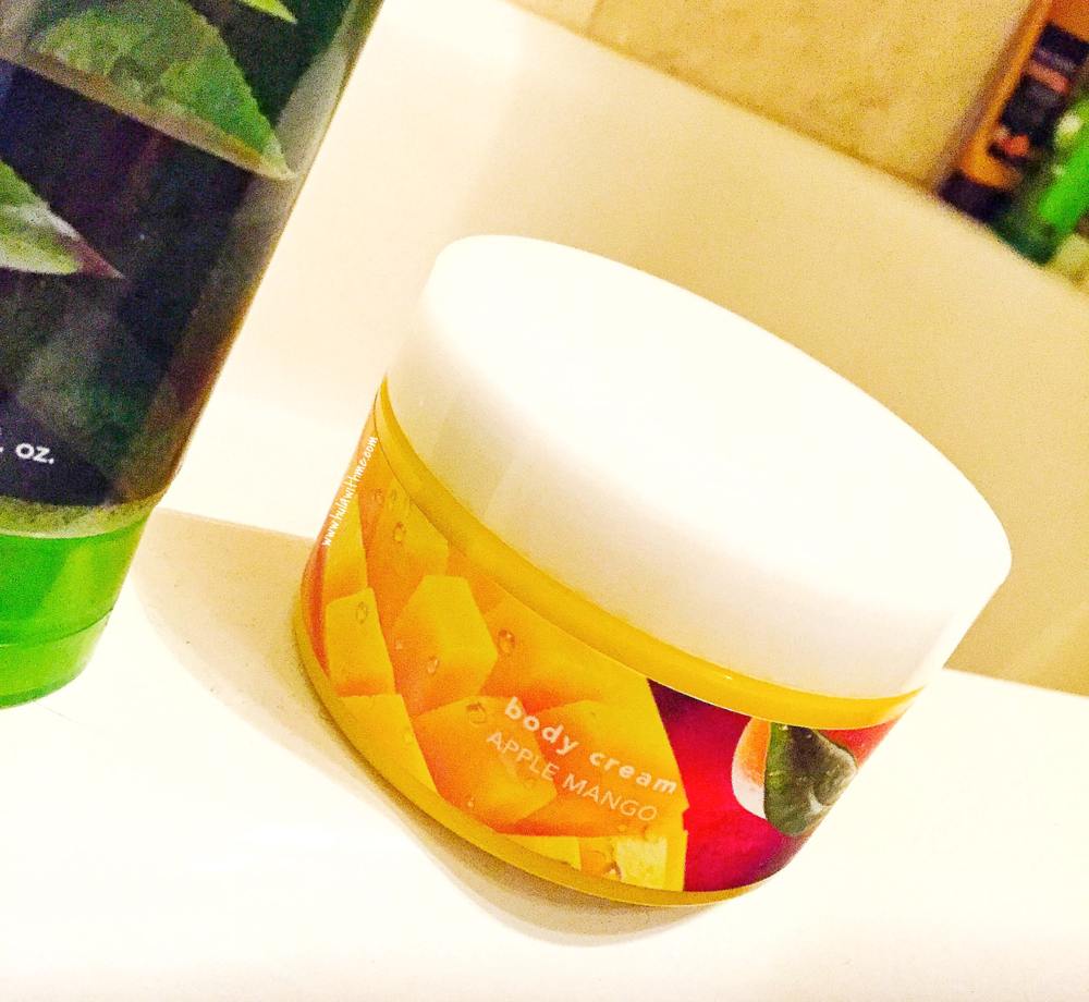 Nature Republic Bath & Nature Body Cream in Apple Mango