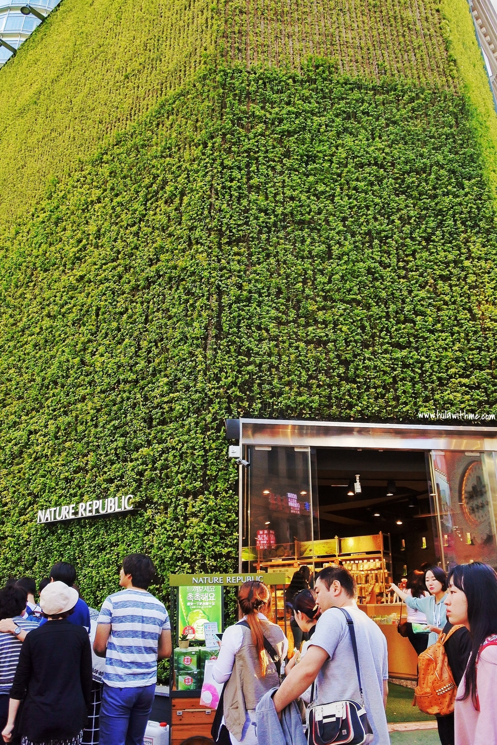 Nature Republic store in Myeongdong, Seoul.