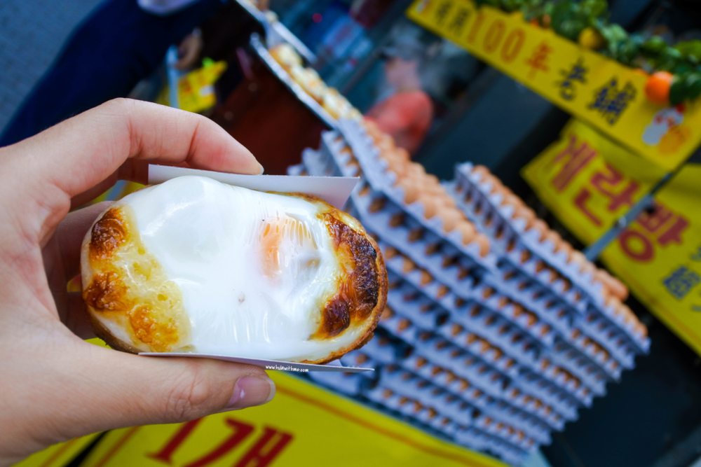 Seoul street food - The Egg Bread