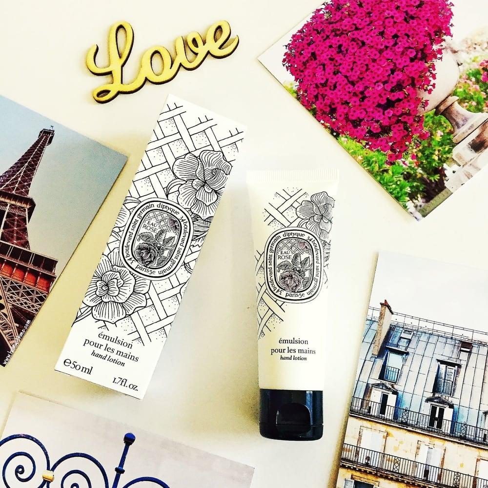 Diptyque Paris Eau Rose Hand Cream/Hand Lotion. Diptyque emulsion pour les mains.