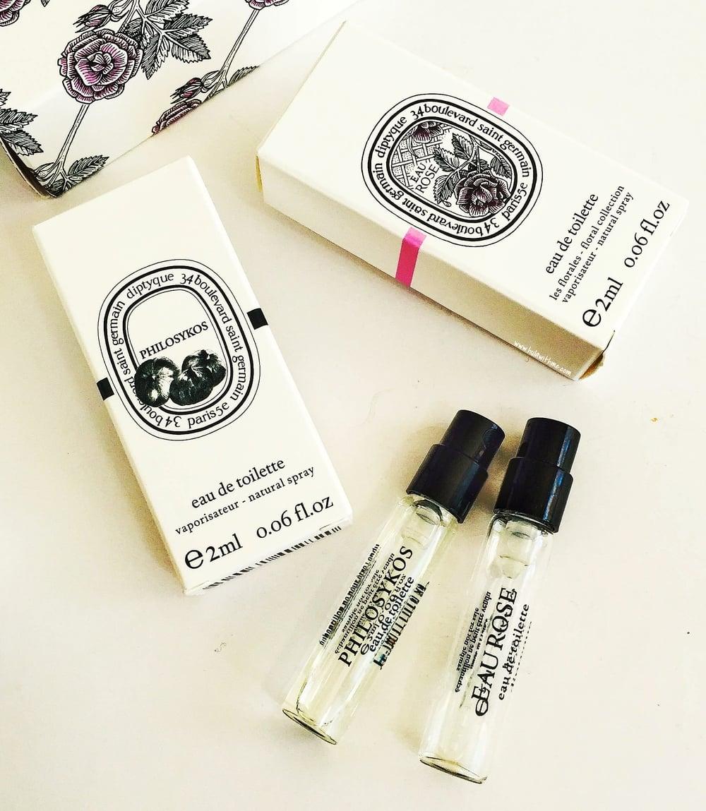 Diptyque Paris Eau de Toilette sample/trial size.
