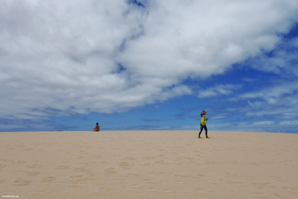 Visiting the Sand Dunes, Corralejo, Fuerteventura, The Canary Islands