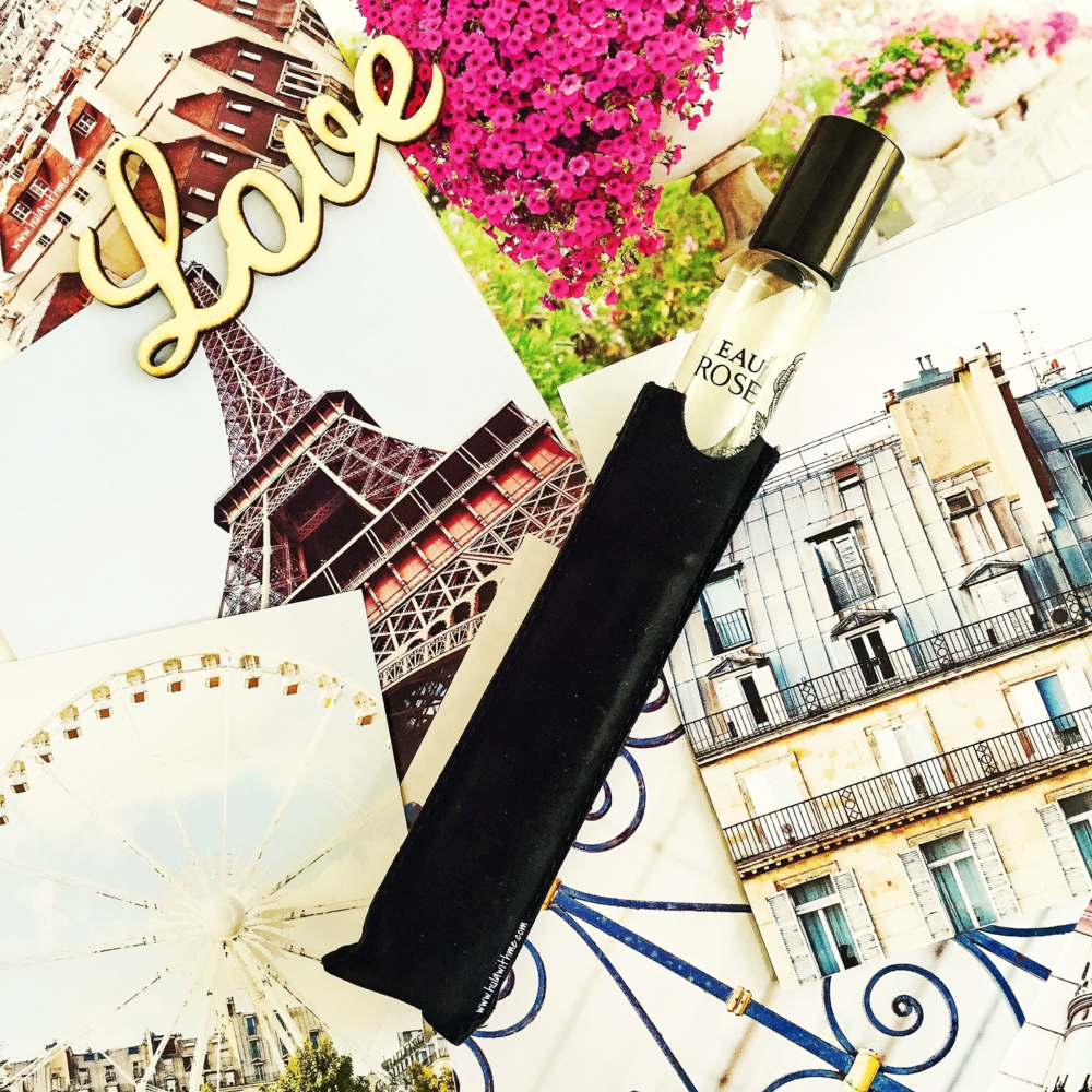 Velvet travel case included: Diptyque Paris Eau Rose Eau de Toilette