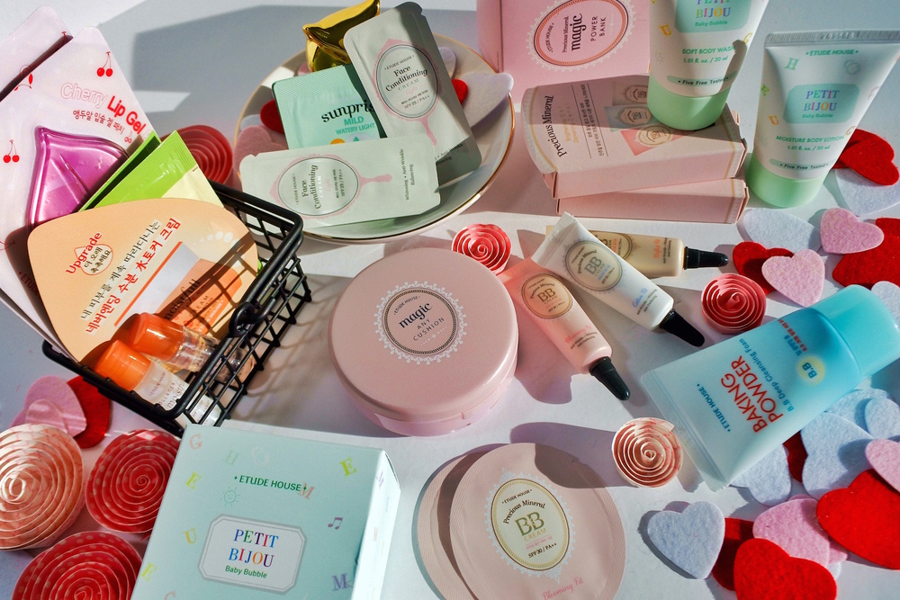 Etude House free samples.