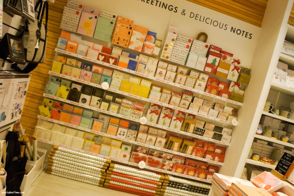 Greeting cards galore.