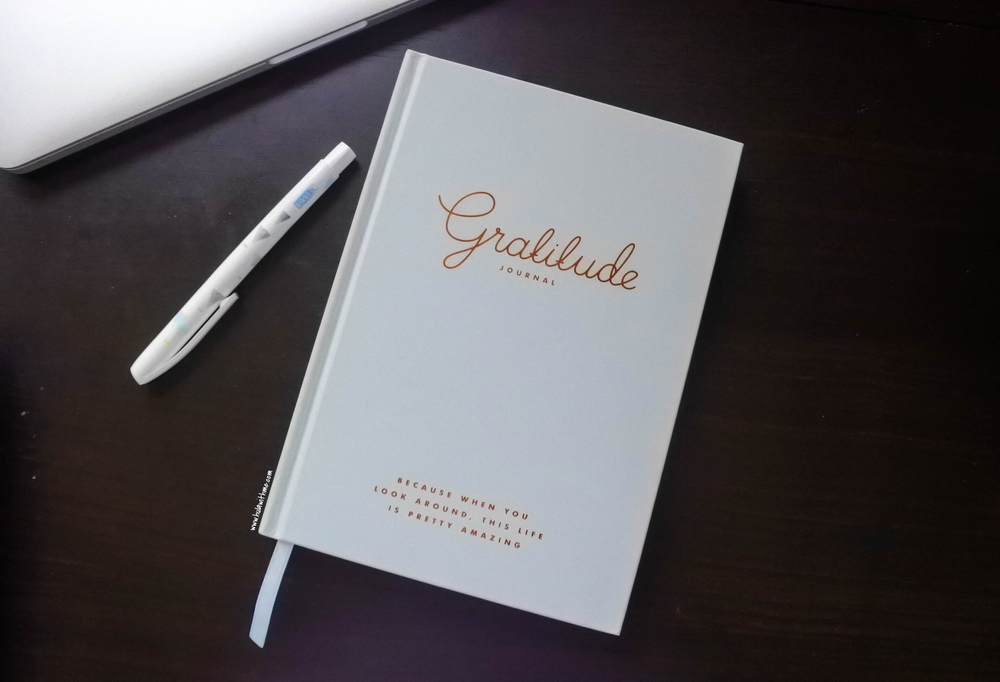 Kikki.K Stationery:  Gratitude Journal.