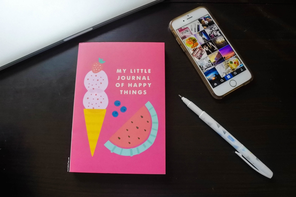 Kikki.K Stationery: My Little Journal of Happy Things.