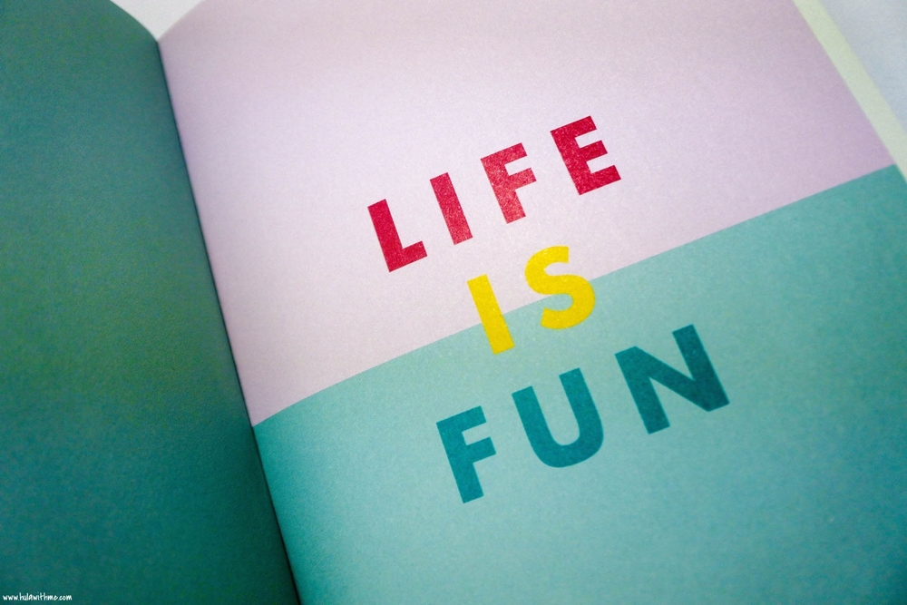 Kikki.K Stationery: The inside pages of My Little Journal of Happy Things.
