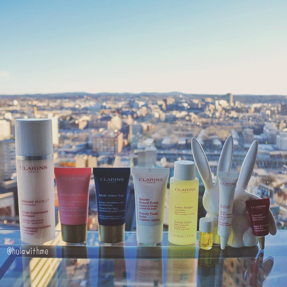 Showing some Clarins love - Recent skincare haul.