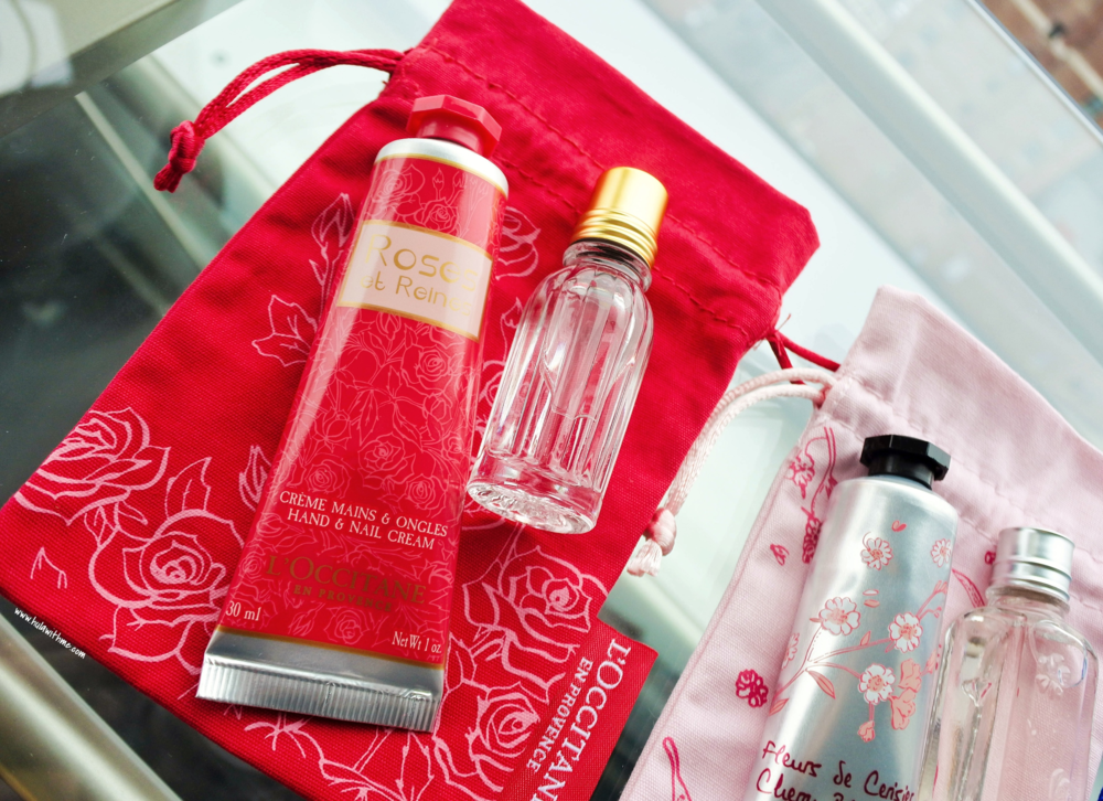 L'Occitane inflight duty free exclusives - Rose et Reines collection