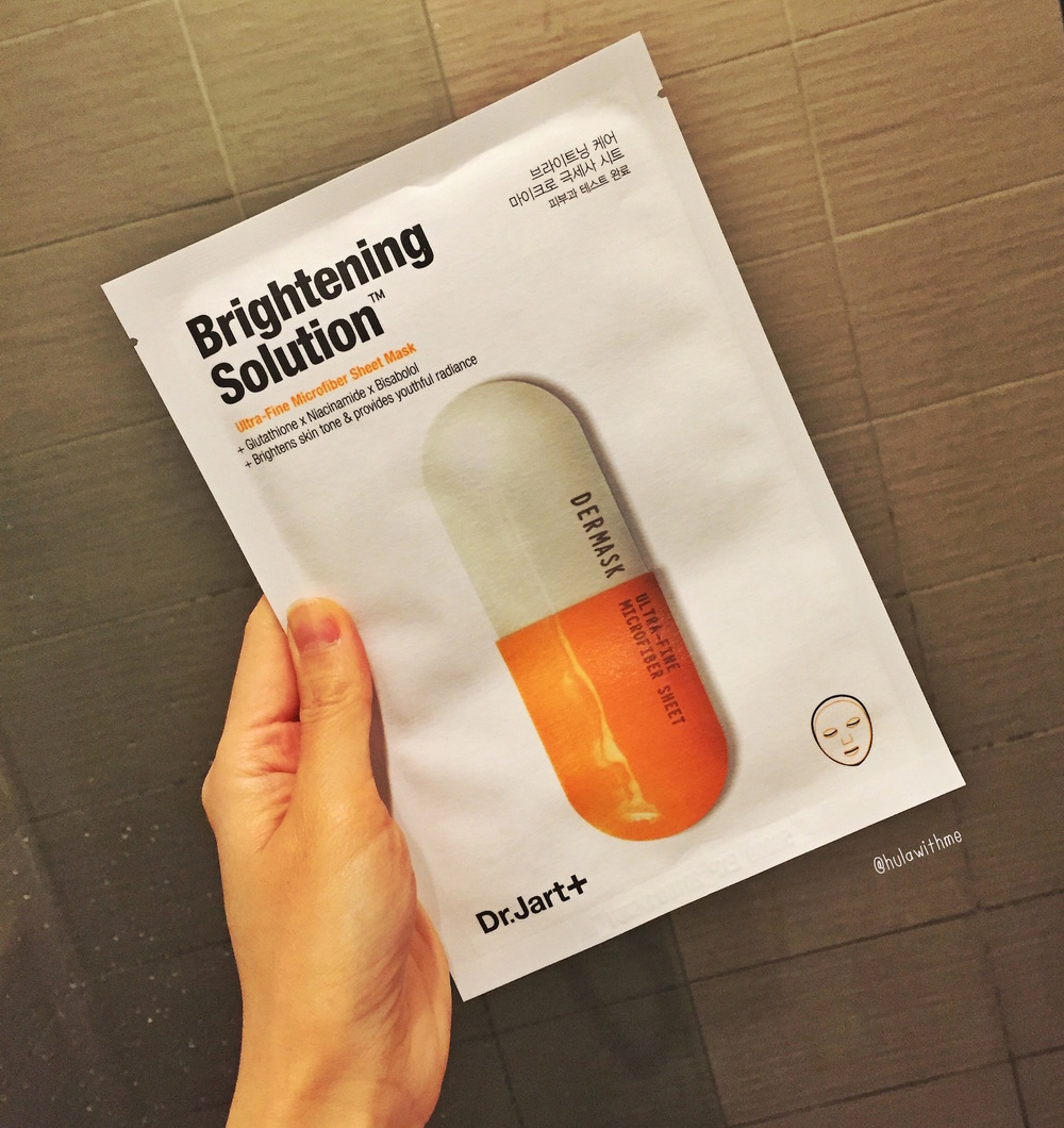 Reviewing Dr. Jart+ Dermask Micro Brightening Solution Mask