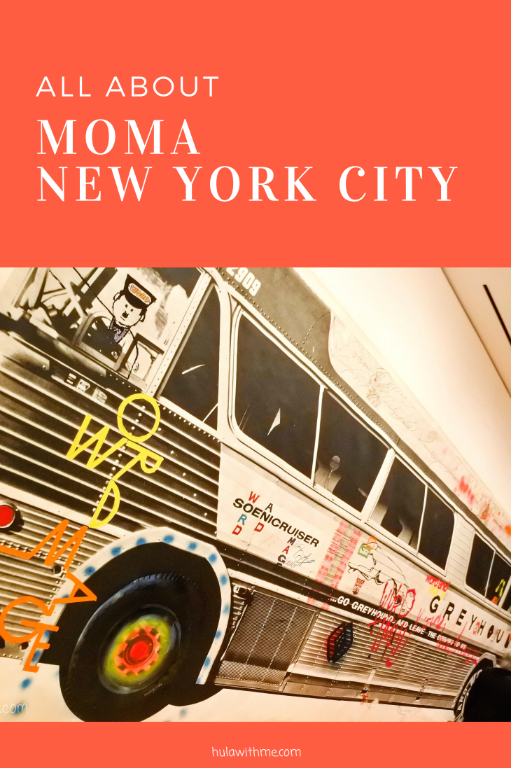Sharing my 24 Hours Adventure in New York City // All About MoMA (Museum of Modern Art)