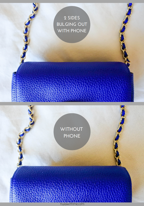 Reviewing the Mulberry Mini Lily Handbag in Neon Blue.