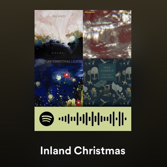 We've put together a sweet Christmas playlist on Spotify with artists you may already know and love & some that might be new to you. We love it all!