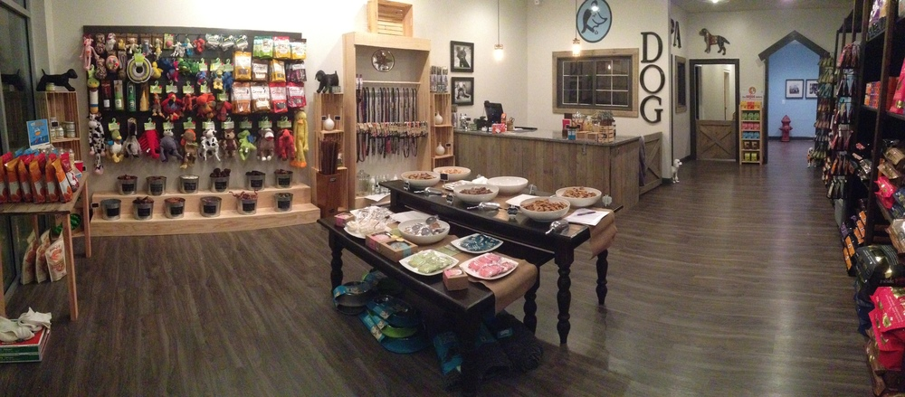 Come see our wide selection of holistic dog and cat foods.