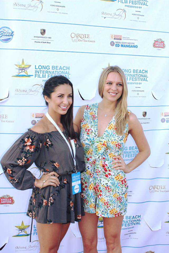 Adriana Leonard (left) and Jenna Michno (right), the talented writer/producer/actor team of Signing Out