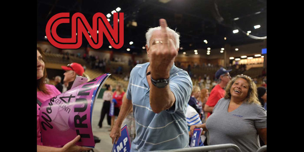 Angry at Media, Noah Grey CNN