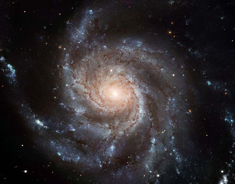 Pinwheel Galaxy ~ Hubble