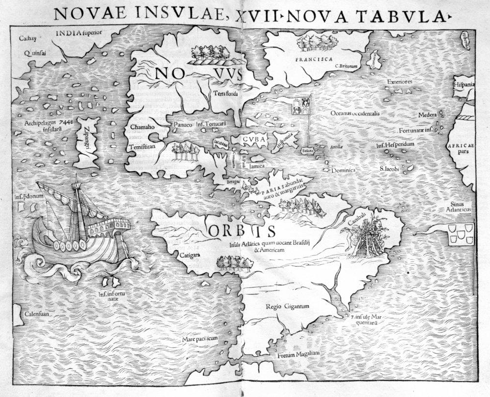 Varrazzano Map ~ 1540