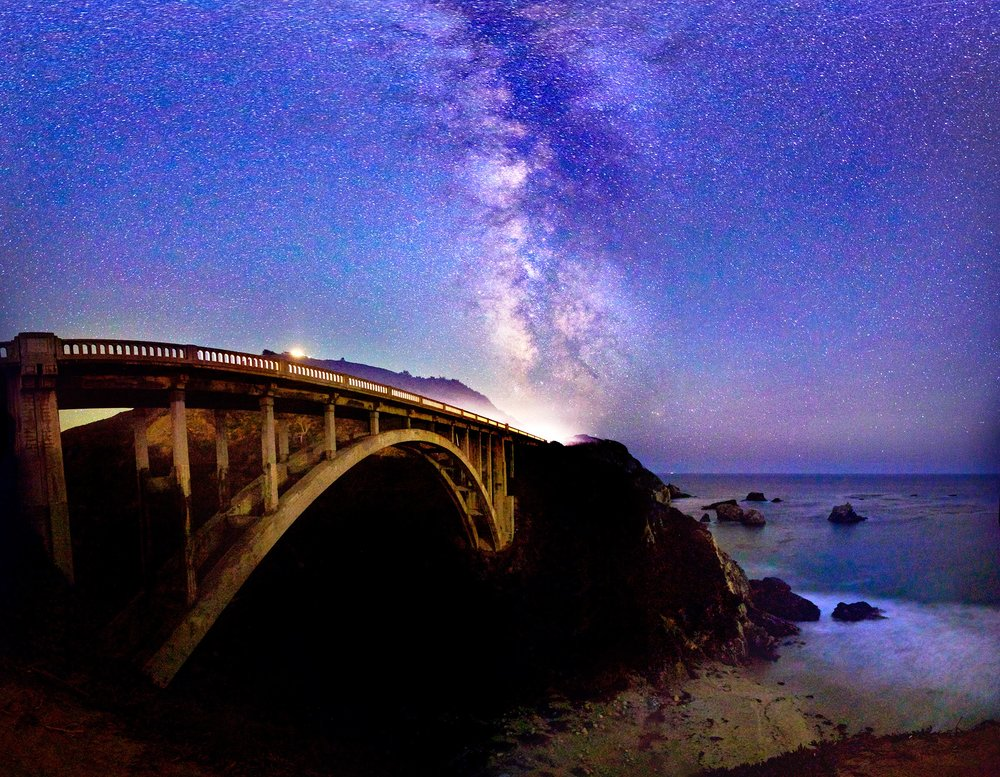 Bixby Bridge, Big Sur ~ Daniel Peckham